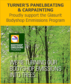 Proudly support the Glasurit Bodyshop Emmissions Program