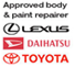 Approved body & paint repairer